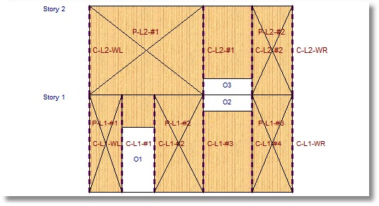 Calculation Modules Shear Walls Wood Shear Wall